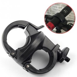 Light Mounting Clips Australia - Bicycle Front Light Clip Flashlight Holder Bicycle Light Holder Rotational Cycling Bike Mount #370957