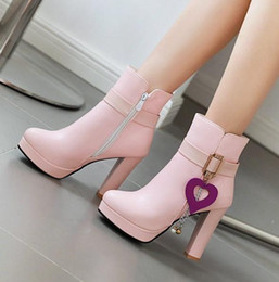 $enCountryForm.capitalKeyWord Australia - small big size 32 33 34 to 40 41 42 43 44 fashion women ankle booties designer shoes winter boots pink white black