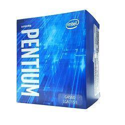 Процессор Intel Pentium G4560 CPU в штучной упаковке с радиатором LGA 1151-land FC-LGA 14 нанометров двухъядерный процессор
