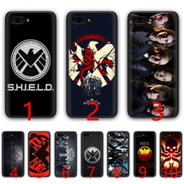 H Case Australia - agents of s h i e l d Marvel Soft Silicone Black TPU Phone Case for Huawei Honor 6A 7A Pro 7C 7X 8X 8 9 10 Lite