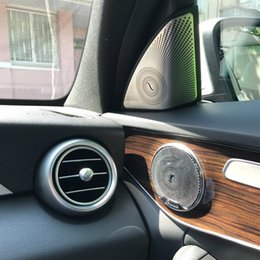 Mp4 player 16 online shopping - 2019 Car Door Audio Speaker Tweeter Decoration Cover for Mercedes Benz E Class W213 Car styling