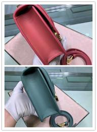 $enCountryForm.capitalKeyWord Australia - CH N M9203 Full skin plain Pink Smooth leather flip-over handbag, one-shoulder bag. Montaigne bag size 24*17*8cm