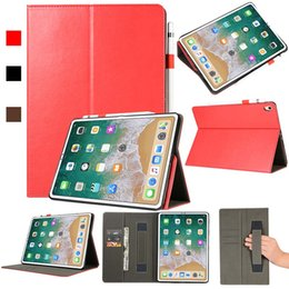 Galaxy Tablet Stand Australia - High Quality Imitation Leather Tablet Case For ipad 11 ipad 2 3 4 With Folding Stand Dormancy Case Shell