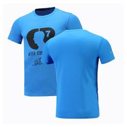 Discount t shirt ronaldo - 2019 Cotton T-shirt Men Ronaldo Fans Casual Wear CR7 Champion Short Sleeved Commemorative Shirt Football Training Suit R