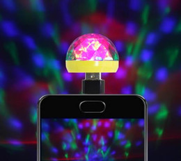 magic power ball UK - USB Stage Light Disco Music Magic Ball Lamp Color Change Club Party Home Lighting Effect for Mobile Phone PC Power Bank