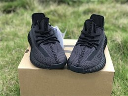 Shoes Glow Dark Women Australia - 2019 Hottest Authentic 350S V2 Black FU9161 Kanye West Man Women Athletic Shoes GID Glow In The Dark EH5360 Clay Zebra Sneakers Size 5-12