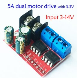 Motor pwM online shopping - Freeshipping A Dual Motor Drive Module Remote Control Forward and Reverse PWM Speed Regulation Double H bridge Over L298N