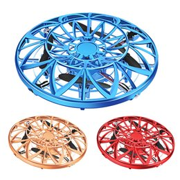 $enCountryForm.capitalKeyWord Australia - Kid Toys UFO Ball Spider Drone Flying Aircraft Toys Hand-Controlled Suspension Mini Induction Interactive Drone for Kids