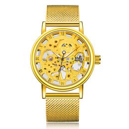 $enCountryForm.capitalKeyWord UK - Top Brand SEWOR Luxury Fashion Casual Stainless Steel Men Mechanical Watch Skeleton Hand Wind Watch For Men Dress Wristwatch