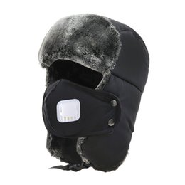 Men Earmuffs NZ - Thickening Mask Skiing Caps Winter Warmer Earmuffs Outdoor Sport Men Camping Hiking Snowboard Snowmobile Hat