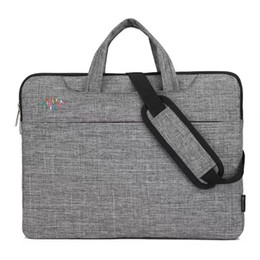 Laptop handbag 15 online shopping - 13 in Portable Business Nylon Laptop Handbag Large Capacity Shoulder Crossbody Bag Briefcase Sleeve for Notebook PC