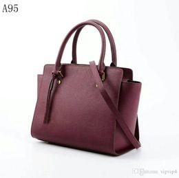 f63041e472 2019 [Classic] designer handbag leather female luxury handbag hand bag wild  lady money explosion models 8 color fashion show models