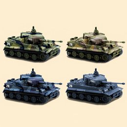 car parts plastic Australia - For Child Remote Control German Parts Gift Tiger Tank Kids Toy Mini Simulation RC Cars