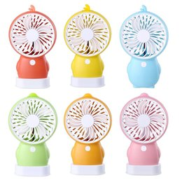 Discount cartoon usb mini fan - New Portable USB Power Handheld Cartoon Penguin Mini Fan Summer Outdoor