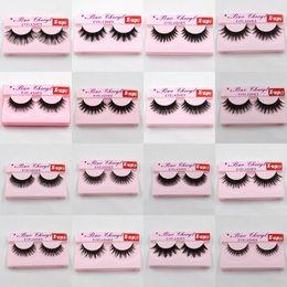 IndIvIdual fake eyelashes online shopping - Bao Cheryl Supernatural Lifelike Handmade False Eyelash D Strip Lashes Thick Fake Faux Eyelashes Makeup Beauty