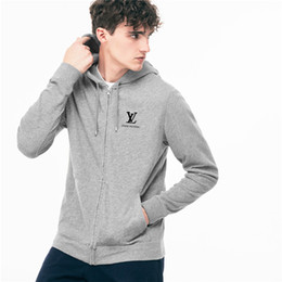 Mens Sweater Shirts UK - Tops L Paris Designer brand Sweater Hoodie High quality sweater tracksuit winter v pullover shirt for mens womens cardigan clothing