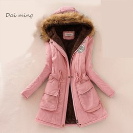 Women Winter Parka Australia - winter jacket women manteau femme parka coat womens jackets and coats abrigos y chaquetas mujer invierno 2017 Europ and America