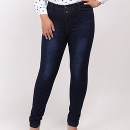 $enCountryForm.capitalKeyWord Australia - Autumn Will Code Cowboy Woman Trousers Fat Mm200 Jin In Waist Self-cultivation Show Thin And Small Foot Pencil Knicker