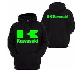 2019 de los hombres de alta calidad de los hombres Kawasaki Race Motocicleta Ropa Caballero Sudadera Sudadera con capucha casual K en venta