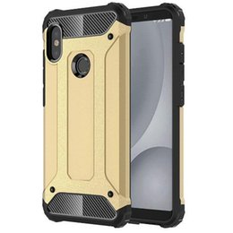 Heavy Duty Note Phone Case UK - for Xiaomi Redmi Note 6 Pro Case Heavy Duty Tough Armor Cover Shockproof Rugged Phone Case for Xiaomi Mi A2 Lite Case