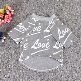 Best Wholesale T Shirts Australia - Best Selling Puppy Clothes Pet T-shirt French Bulldog Teddy Original Trend Handsome Clothes French Bulldog Dog Shirt