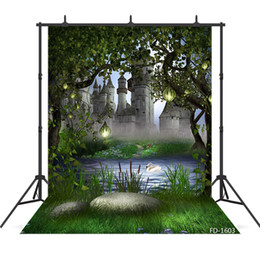 $enCountryForm.capitalKeyWord UK - Tree lake photography backdrops for children kids baby shower new born vinyl cloth photo printed backgrounds photo studio