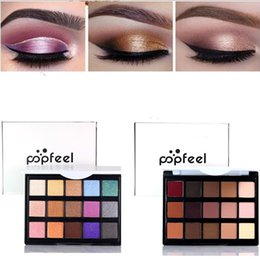 $enCountryForm.capitalKeyWord Australia - 15 Colors Beauty Face Make Up Matte Shimmer Eye Shadow Palette Waterproof Fashion Party Natural Nude Quality Eyeshadow Glitter Eyelid Powder