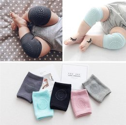 Infant knee pad online shopping - Baby Kids Anti Slip Crawling Elbow Cushion Knee Pads Crawl Knee Protector Infant Leg Warm Safety Protector Child Elasticity Kneepad A42205