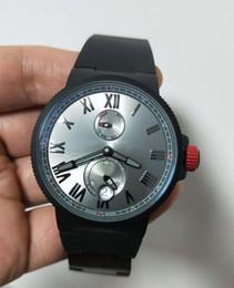$enCountryForm.capitalKeyWord Australia - Super Clone High quality UN New Marine Chronometer Manufacture Rome digital 266-67-3 43 Black PVD coating mechanical Automatic Mens Watch