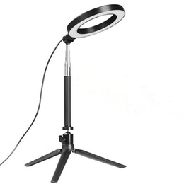 China Dimmable LED Studio Camera Ring Light Photo Phone Video Light Annular Lamp With Tripods Selfie Stick Ring Fill Light For Canon Nikon Camera supplier video ring suppliers