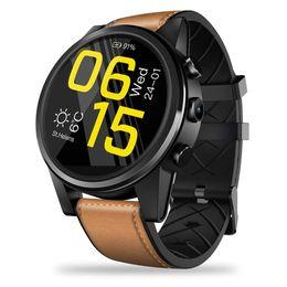 $enCountryForm.capitalKeyWord Australia - Zeblaze THOR 4 PRO 4G Smart Watch GPS GLONASS Quad Core 16GB 5million pixels Camera Hybrid Leather Strap Smart Bracelet IOS Android watch