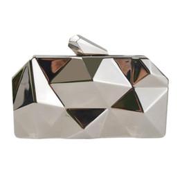 $enCountryForm.capitalKeyWord Australia - Ladies Mini Evening Clutches Chains Bag For Women Metal Dinner Shoulder Hand Bags Handbags Crossbody Messenger Small Clutch Bag