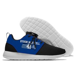 $enCountryForm.capitalKeyWord Australia - F lace-up Shoes confortable Seahawks Team player number style Walking Athletic Shoes light weight Seattle s style