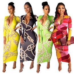 $enCountryForm.capitalKeyWord NZ - Female Summer Bodycon Dress Women Clothes Spring OL Vestidoes Deep V-neck Sheath Dresses