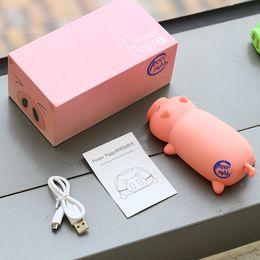 Iphone Design Power Bank Australia - New 10000mah Lovely pig Power Bank Portable Powerbank Battery pig Cartoon Design Charge For iphone5 6s xiaomi mi5