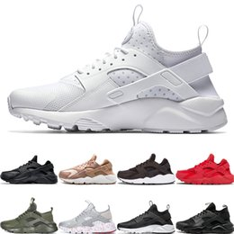 $enCountryForm.capitalKeyWord NZ - Triple White Huaraches Ultra 4.0 1.0 Running Shoes Men Women Runner Sneakers Tripe black red rose gold Designer Sport Trainers 36-45