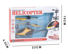 Toy Radio Control Helicopter Australia - Induction Mini RC Helicopter Radio Remote Control Hand Induction Flying Aircraft Electric Micro Helicopters Toys Gift for Kids In Stock