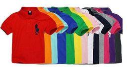 $enCountryForm.capitalKeyWord UK - 2019 Fashion Kids Polo t Shirt Children Lapel Short sleeves T shirt Boys Tops Clothing Brands Solid Color Tees Girls Classic Cotton T shirts