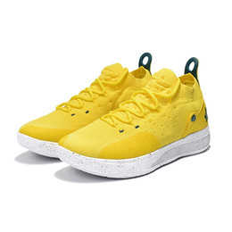 dad0b09c12d097 Womens kd 11 basketball shoes for sale Black White Yellow Boys Girls youth kids  Kevin Durant KD11 XI sneakers tennis with box