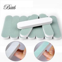 Mini Buffer Blocks Australia - Bittb 3Pcs Mini Nail Polishing Files Buffer Sanding Block Manicure Pedicure Nail Tools Nail Care Shiner Buffing Nails Art Tools