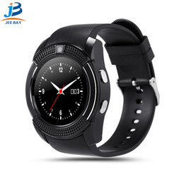 $enCountryForm.capitalKeyWord Australia - V8 Smart Watch Wristband Watch Band With 0.3M Camera SIM IPS HD Full Circle Display Smart Watch For Android System With