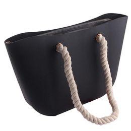 $enCountryForm.capitalKeyWord Australia - European American Beach Shoulder Bag Jelly Korean Fashion Solid Color Silicone Handbag Hand Bags For Women Ladies Cute Handbags J190627