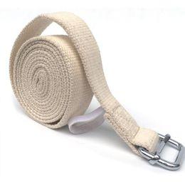 $enCountryForm.capitalKeyWord Australia - 3m 9.8ft or 1.8m Yoga Stretch Strap D-Ring Belt Figure Waist Leg Resistance Fitness Band Yoga Belt Cotton Exercise Gym Rope