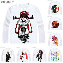 Casual Long Sleeve T Shirts Australia - Dave Strider Homestuck T Shirt Webcomic Series Game Andrew Hussie Anime Custom T-shirt Casual Vintage Print Long Sleeve TShirts