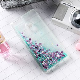 $enCountryForm.capitalKeyWord NZ - Mobile Phone Accessories Mobile Phone Cases Covers Ojeleye Glitter Liquid Silicon Case For Huawei P9 Lite Mini Back Cover Coque For Nova