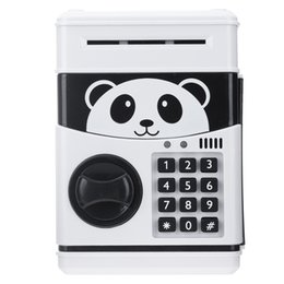 $enCountryForm.capitalKeyWord Australia - Panda Electronic Piggy Atm Password Money Cash Coins Saving Bank Safe Box Automatic Deposit Banknote Christmas Gift Q190606