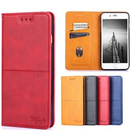 Luxury Credit Card Iphone Australia - For iPhone X XR XS MAX 6 6S 7 8 PLUS Business Luxury Credit Card Slot Photo Frame Wallet PU Leather Phone Case For Samsung S8 S9 S10 Plus