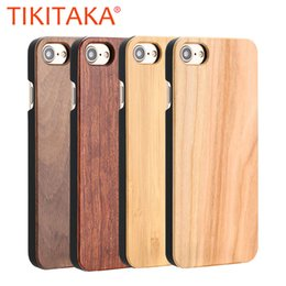 $enCountryForm.capitalKeyWord Australia - Real Wood Case For Iphone X Xs Max Xr 8 7 6 6s Plus 5 5s Se Cover Durable Natural Rosewood Bamboo Walnut Wooden Hard Phone Cases