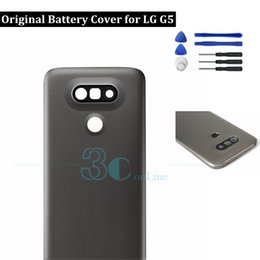$enCountryForm.capitalKeyWord Australia - Original for LG G5 Battery Back Cover Housing Door + Camera Glass lens For LG G5 H850 H858 VS987 H860 Housing Replacement Parts