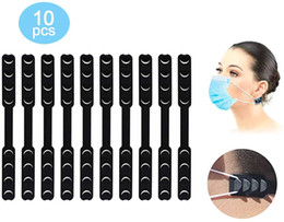 Black Mask Extender ear savers Anti-Tightening Ear Protector Decompression Holder Hook Strap Accessories mask Grips Extension Buckle